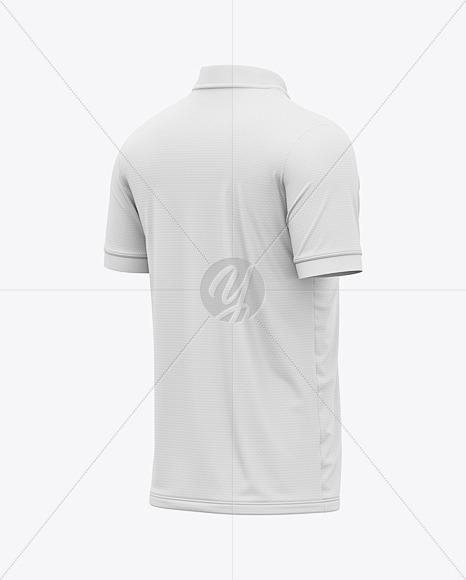 Soccer Jersey / T-Shirt Mockup - Back Half Side View