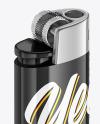 Glossy Lighter Mockup