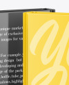 Two Hardcover Books w/ Glossy Covers Mockup