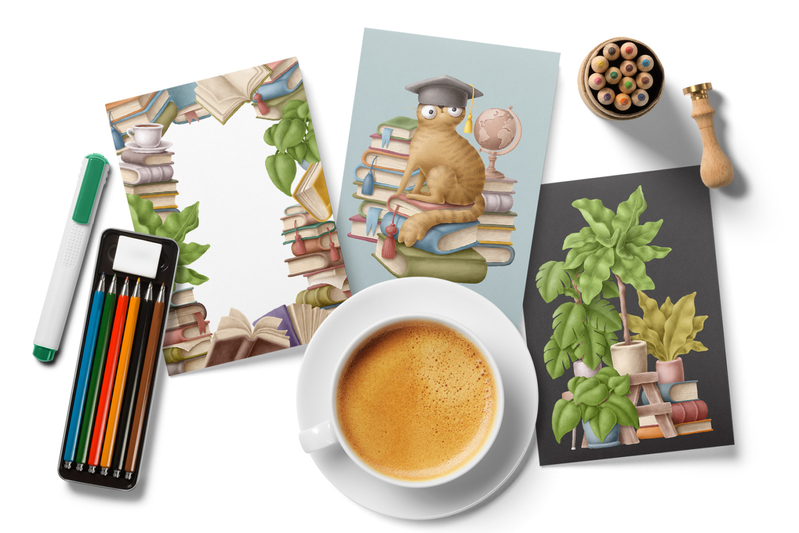 Books clipart bundle