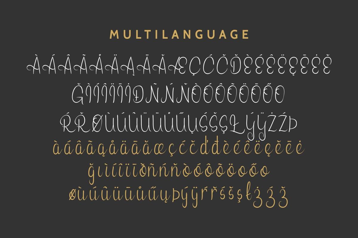 Leonita Script Font