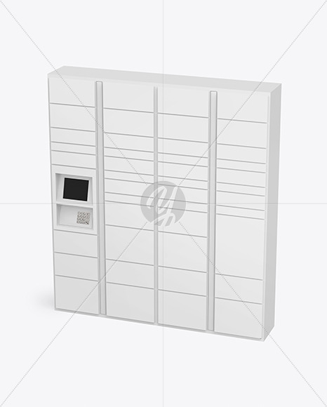 Pick Up Locker Mockup