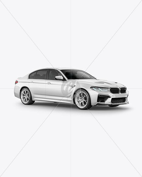 Executive Car Mockup - Half Side View - Yellowimages Mockups