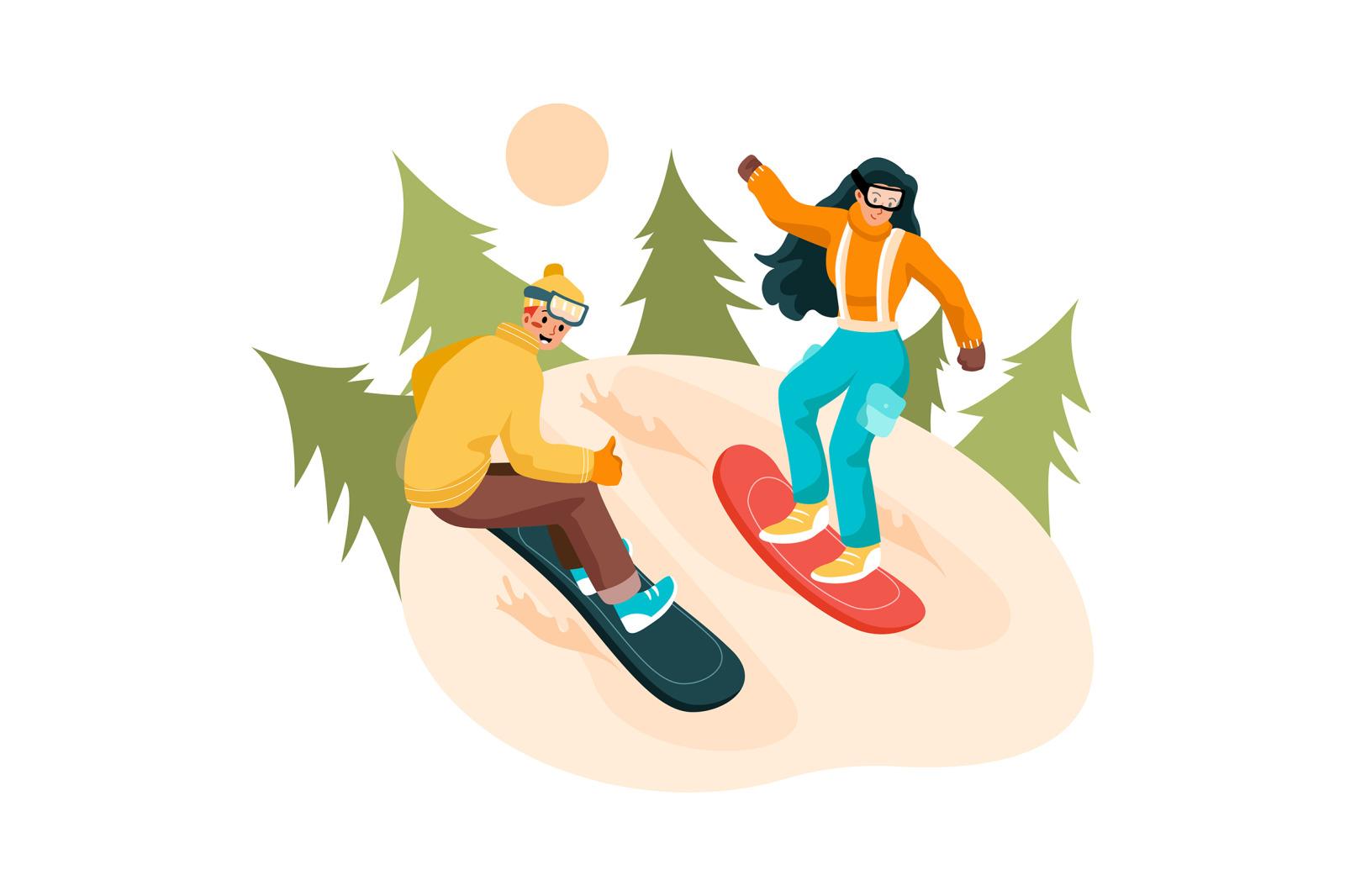 M245_ Outdoor Activities Illustrations