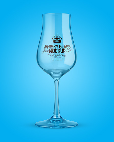 Clear Snifter Glass Mockup
