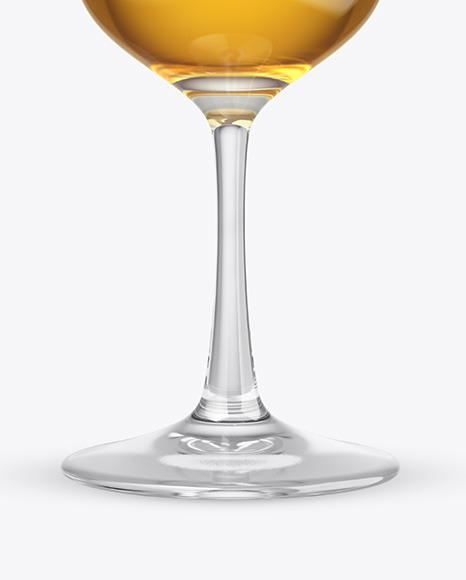 Whiskey Snifter Glass Mockup