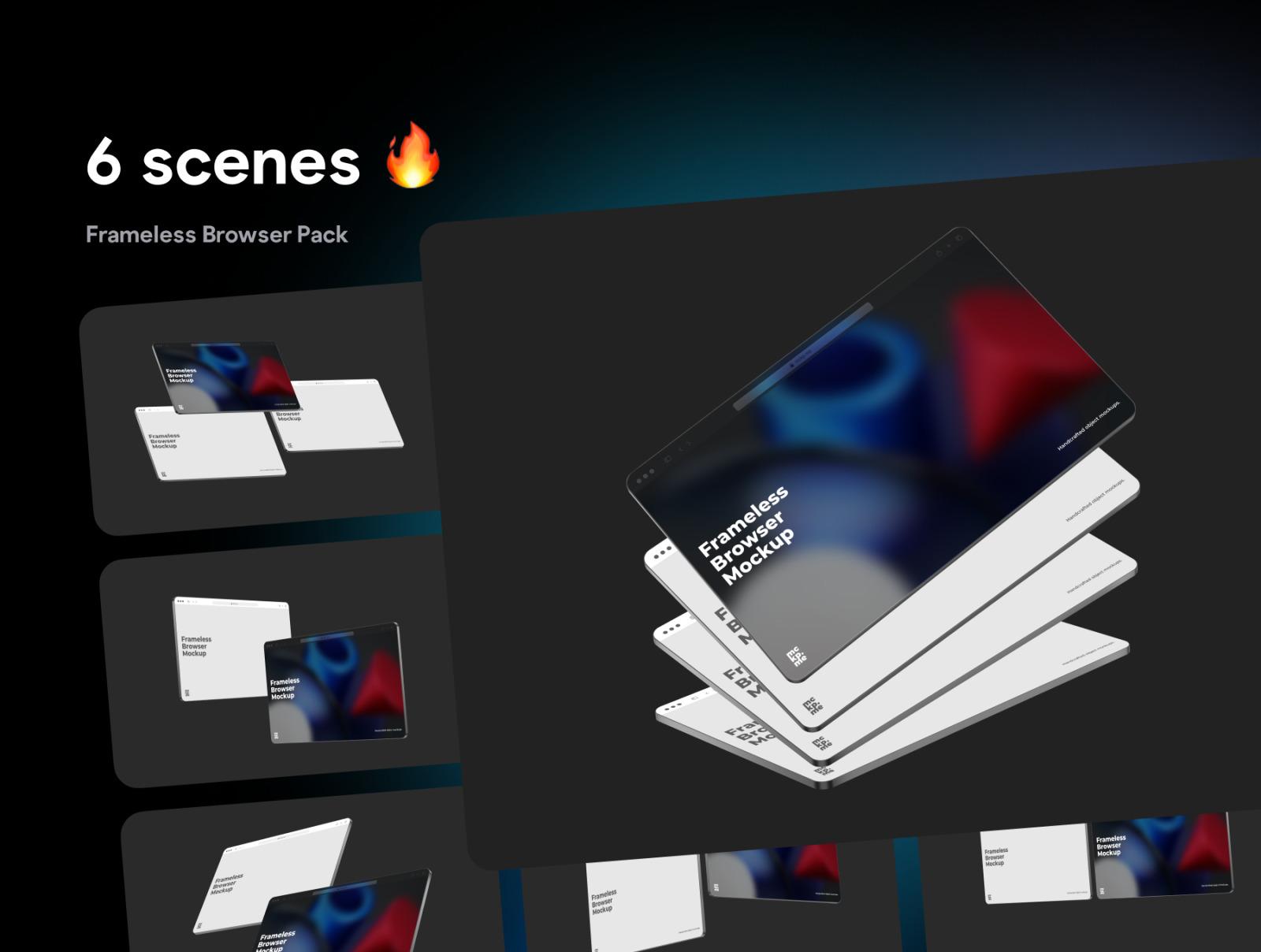 Frameless Browser Pack