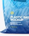 Plastic Carrier Bag Mockup
