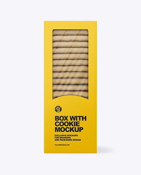 Cookie Box Mockup