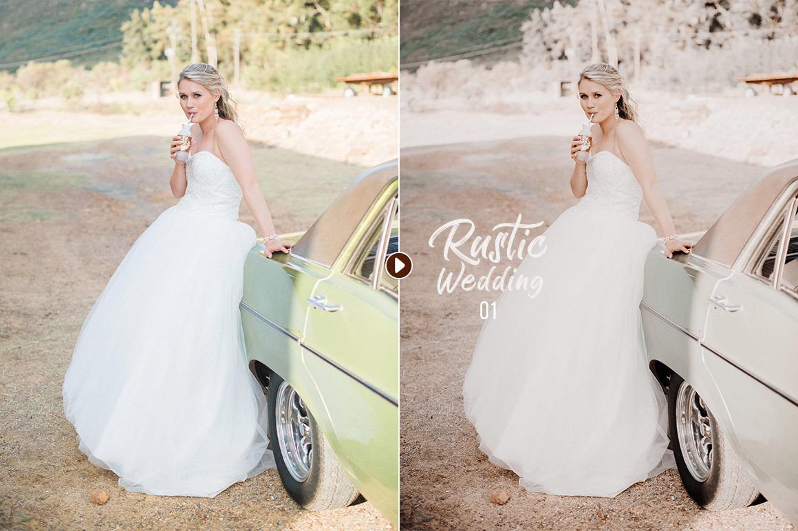 50 Rustic Wedding Presets