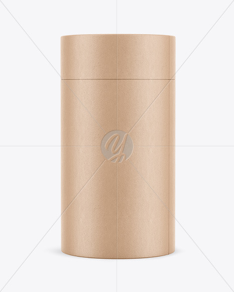 Kraft Tube Mockup
