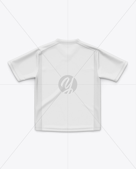 Soccer Jersey / T-Shirt Mockup - Back Top View
