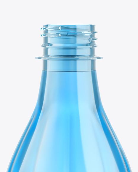 500ml Color Plastic Drink Bottle Mockup
