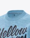 Melange Women's Long Sleeve Sweatshirt - Front Half Side View