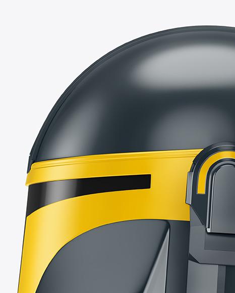 Mandalorian Helmet Mockup