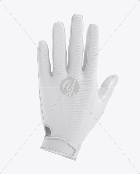 Football Glove Mockup - Back View