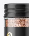 Spice Jar with Cumin Mockup