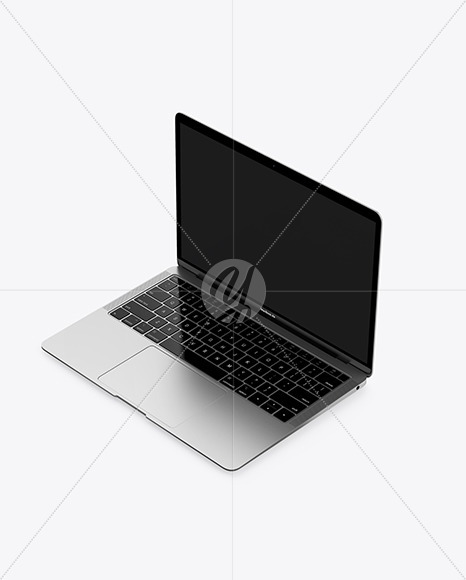 MacBook Air Space Gray Mockup