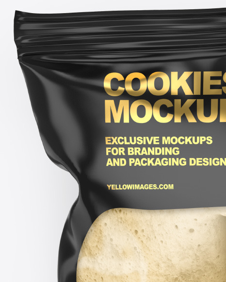 Bag With Fortune Cookie Mockup