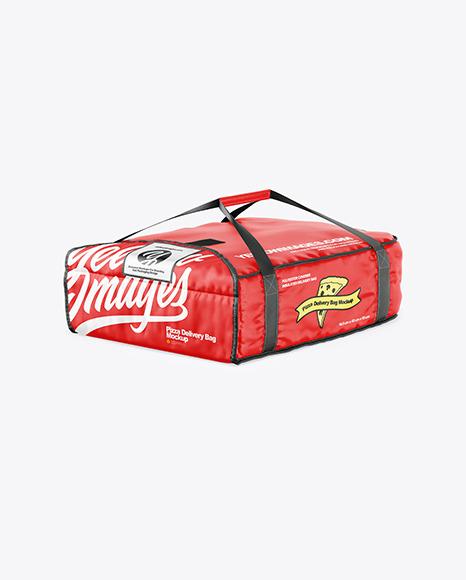 Pizza Delivery Bag Mockup