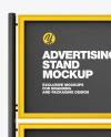 Double Framed Advertising Board Mockup