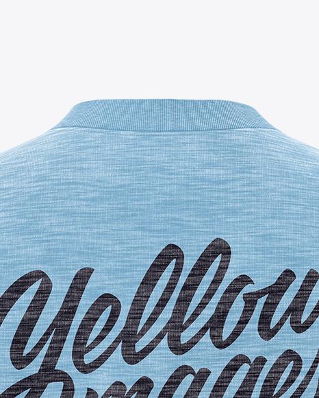 Melange Women's Long Sleeve Sweatshirt - Back View
