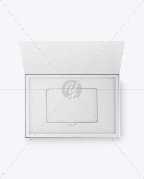 Gift Card in a Box Mockup