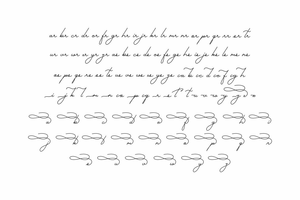Gallery Dwiarna Script and  Sams Font