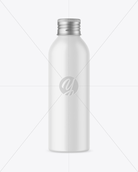 150 ml Matte Bottle Mockup