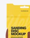 Sanding Disc Mockup