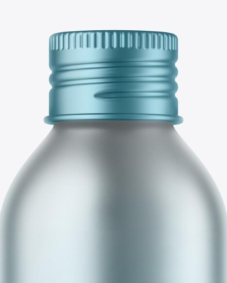 150 ml Metallic Bottle Mockup