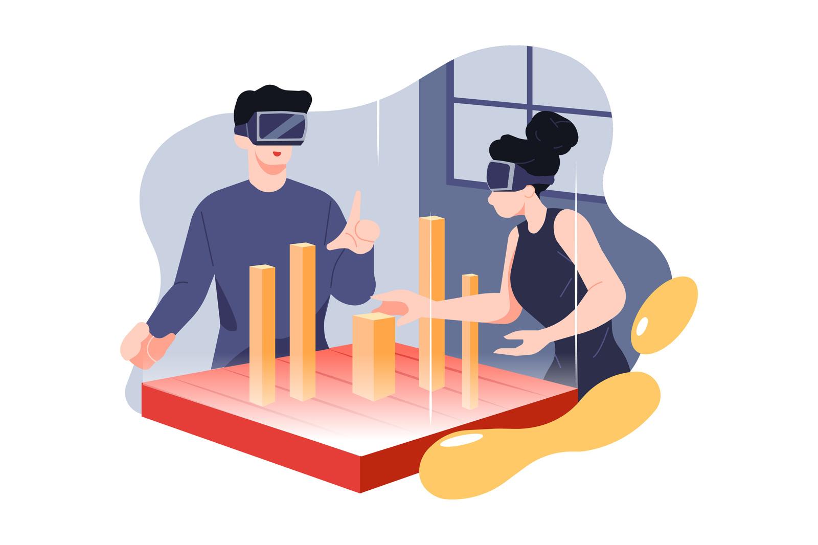 M242_Virtual Reality Illustrations