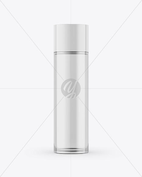 Cosmetic Glass Bottle Mockup