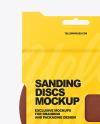 Sanding Discs Mockup