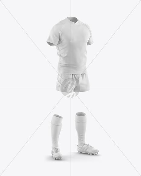 Men's Full Rugby Kit Mockup