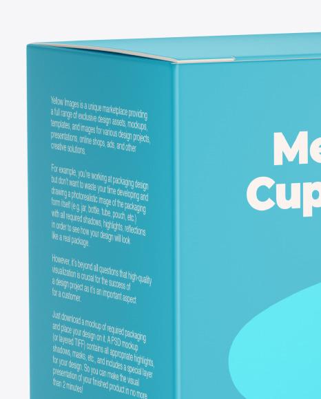Menstrual Cup Package Mockup