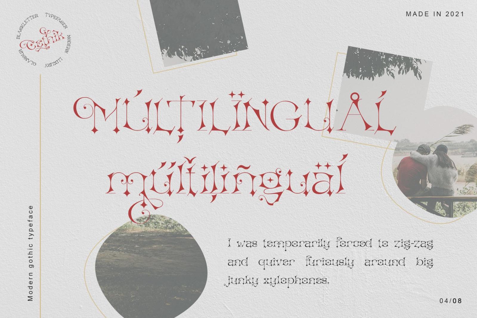 Cethik Font