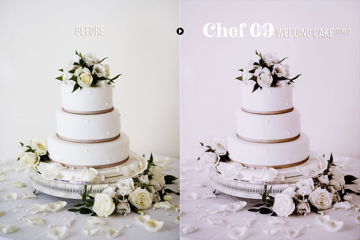 Chef - 50 Food Presets