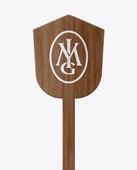 Wooden Stirrer Stick Mockup