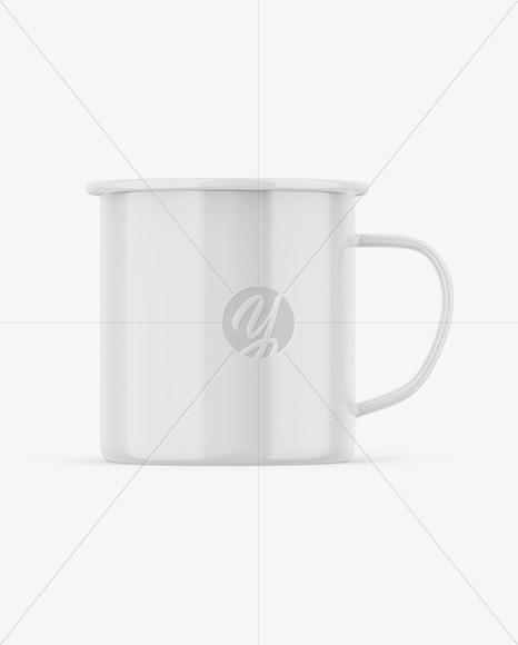 Glossy Cup Mockup