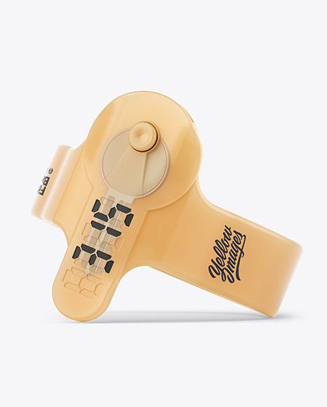 Fitness Silicone Bracelet Mockup