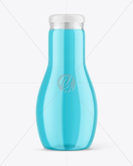 Glass Drink Bottle Mockup