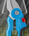 Pruning Shears Mockup - Front View