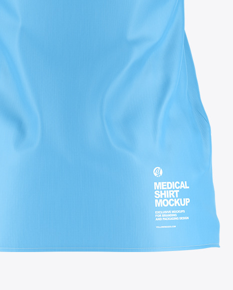Medical Shirt Mockup - Back View