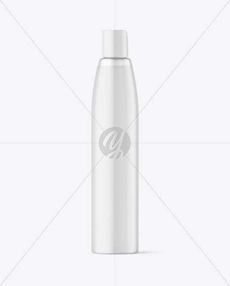 Frosted Plastic Soap Bottle Mockup