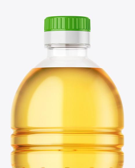 Sunflower Oil Bottle Mockup