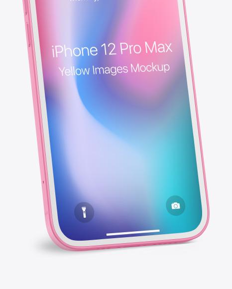 Clay Apple iPhone 12 Pro Mockup