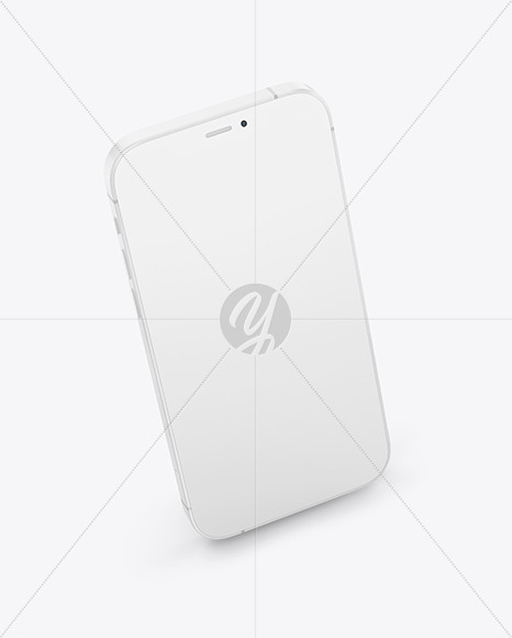 Clay Apple iPhone 12 Pro Max Mockup