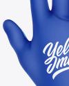 Cycling Glove Mockup