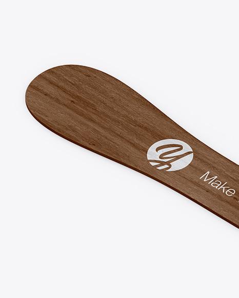 Wooden Stick Mockup